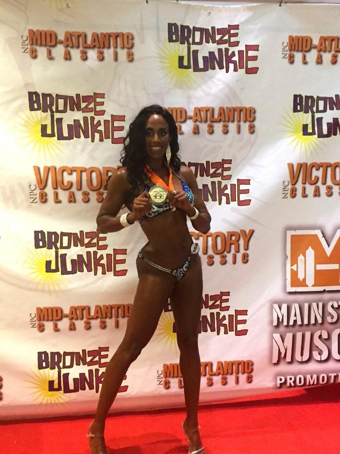 NPC Mid Atlantic Classic bikini athlete