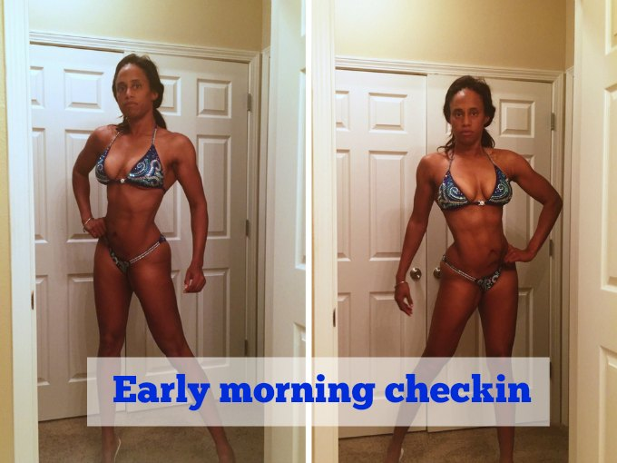 3 weeks out checkin for NPC Stewart Fitness