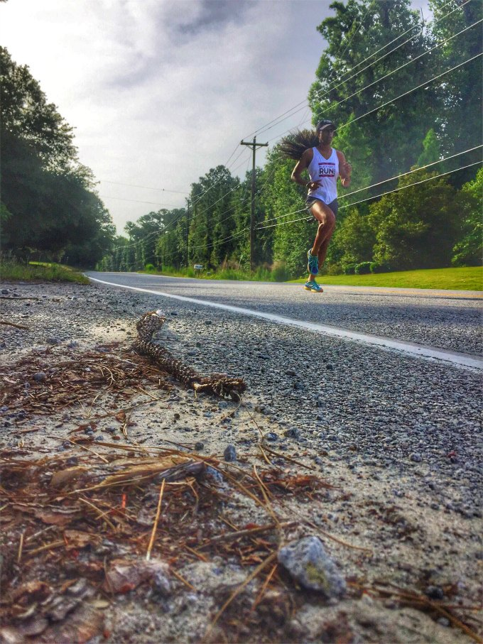 running hill repeats outdoors