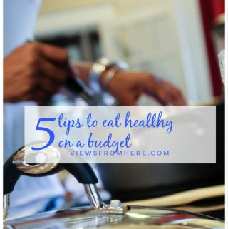 5 tips to eat healthy on budget